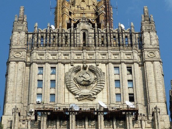 Russian Foreign Ministry evacuated over bomb threat