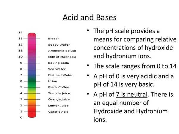 what are some examples of acids and alkalis in everyday