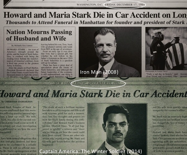 How old was Tony Stark when his father died? - Quora