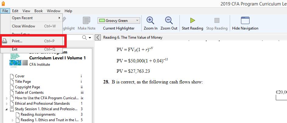 1 pdf books level cfa