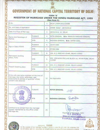 Can We Apply For Marriage Certificate Online Quora
