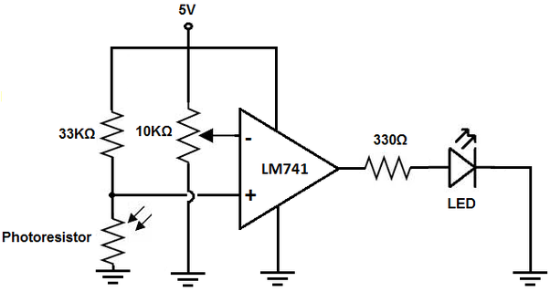 where can a simple circuit be used