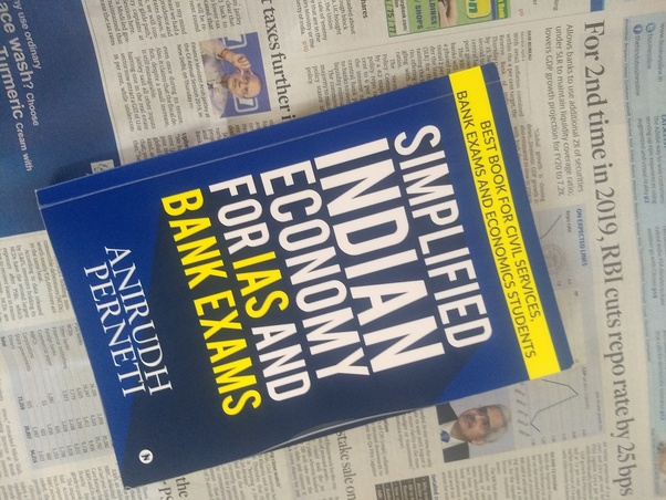 What are the best economics books to study for the IAS prelims and