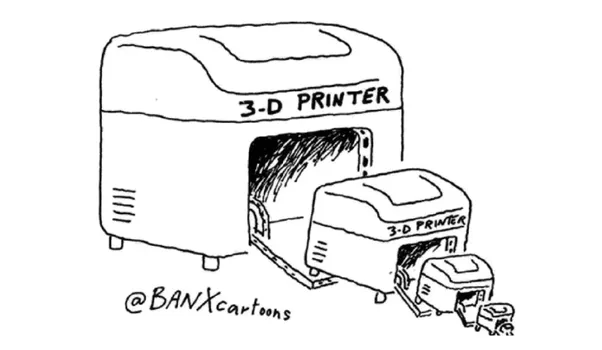 can a 3d printer print another 3d printer  my friend told