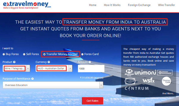 How To Send Money From India