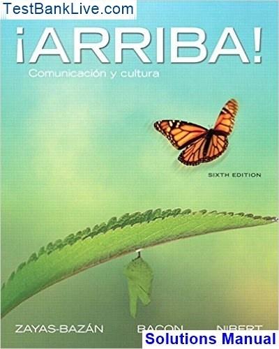 9780205203338: ¡arriba! : comunicación y cultura, 6th edition.