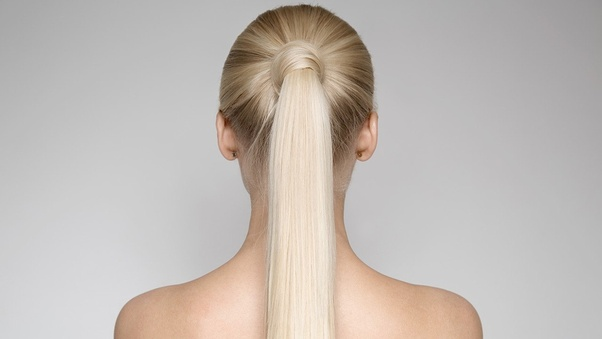 What Hairstyle Goes With A Long Sleeved High Neck Dress With A Low