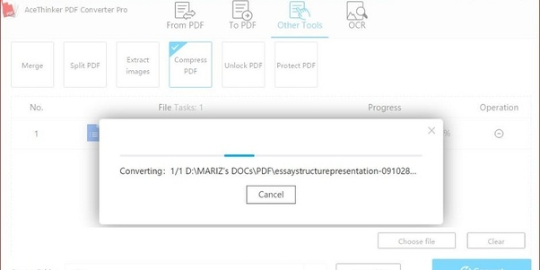 How to compress a PDF of size 300 MB to a reasonable size - Quora