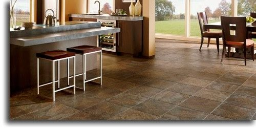 what is the best type of flooring for a kitchen wood tiles