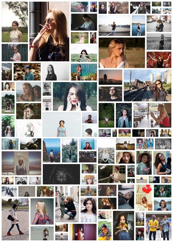 what is the best way to make a collage with 100 pictures quora
