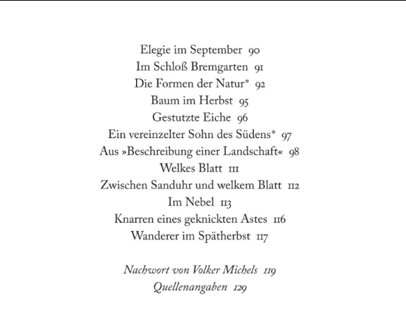 Gedichte hermann hesse herbst