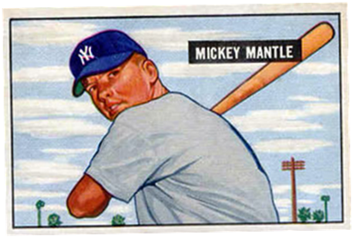 How To Cash In A Dozen Mickey Mantle Baseball Cards From The Mid
