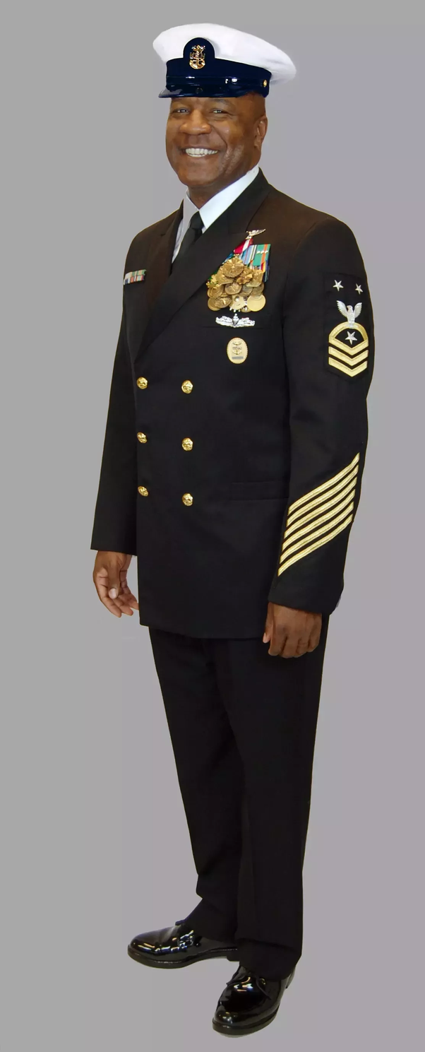 At What Rank Do U S Navy Uniforms Become The Kind That