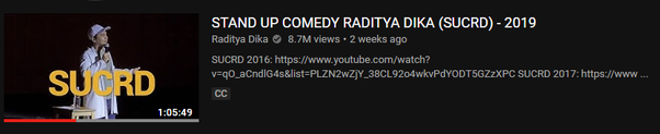 acara lawakan youtube yang vieb banyak diyoutube