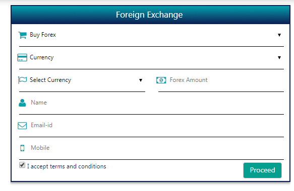 Forex currency exchange in bangalore