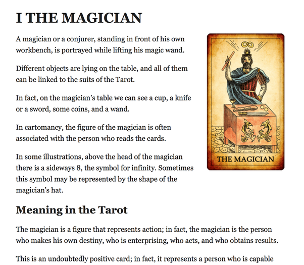 Using all 78 cards in a tarot deck, could you lay out the
