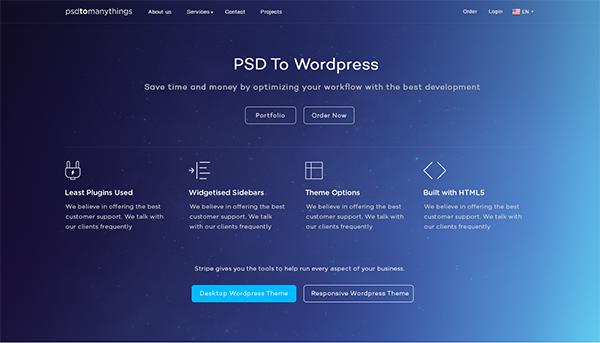 What is the best PSD to WordPress theme conversion company? - Quora