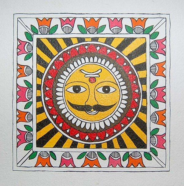 Form In Art And Design : What is madhubani painting quora