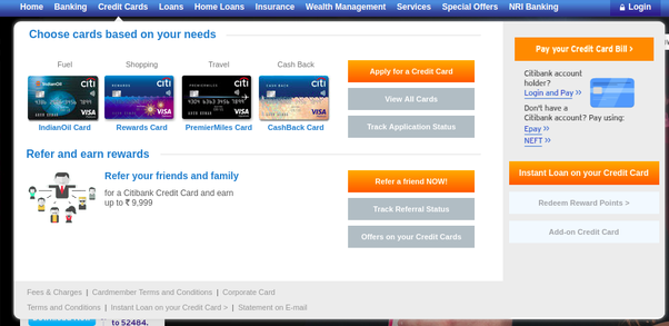 Citibank Credit Card Application Status >> How To Apply For A Citi Bank Credit Card Quora