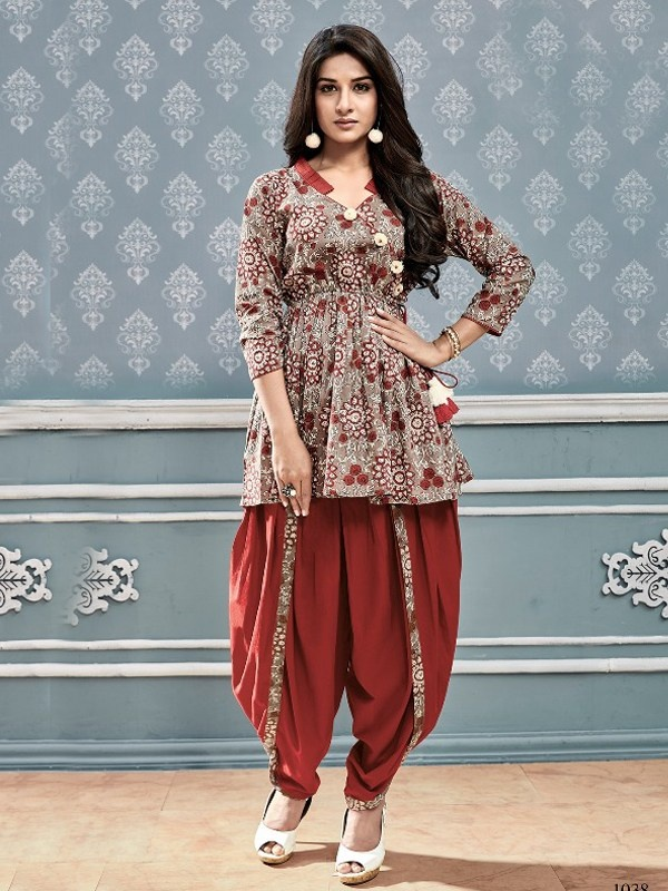 What Is The Latest Fashion In Kurtis Design In India Quora