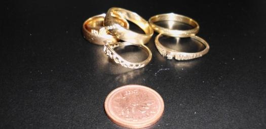 How much does a 14k gold ring cost? - Quora