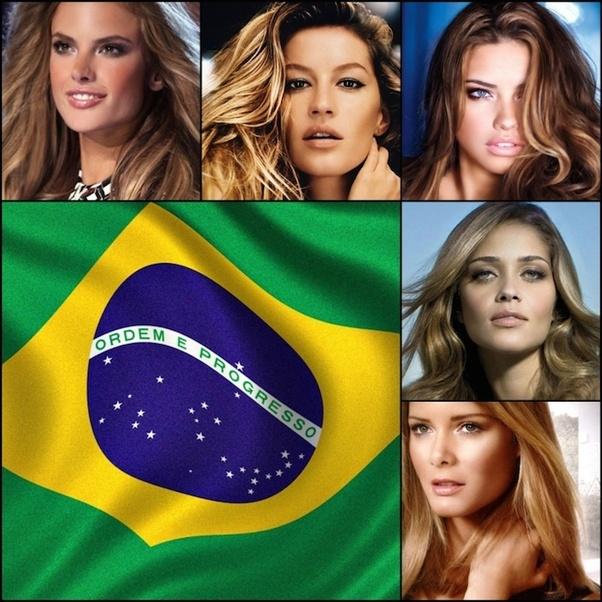 Girl picture beautiful brazilian Most Beautiful
