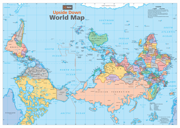 Is inverting the world map factually wrong? - Quora