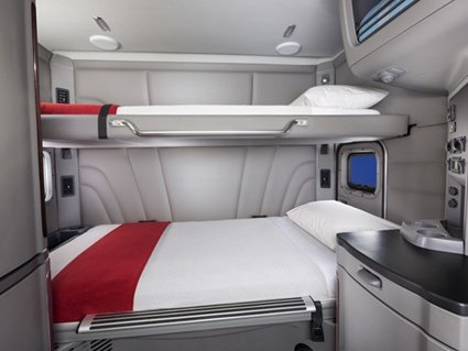 Where Do Truckers Sleep While Out On The Road In