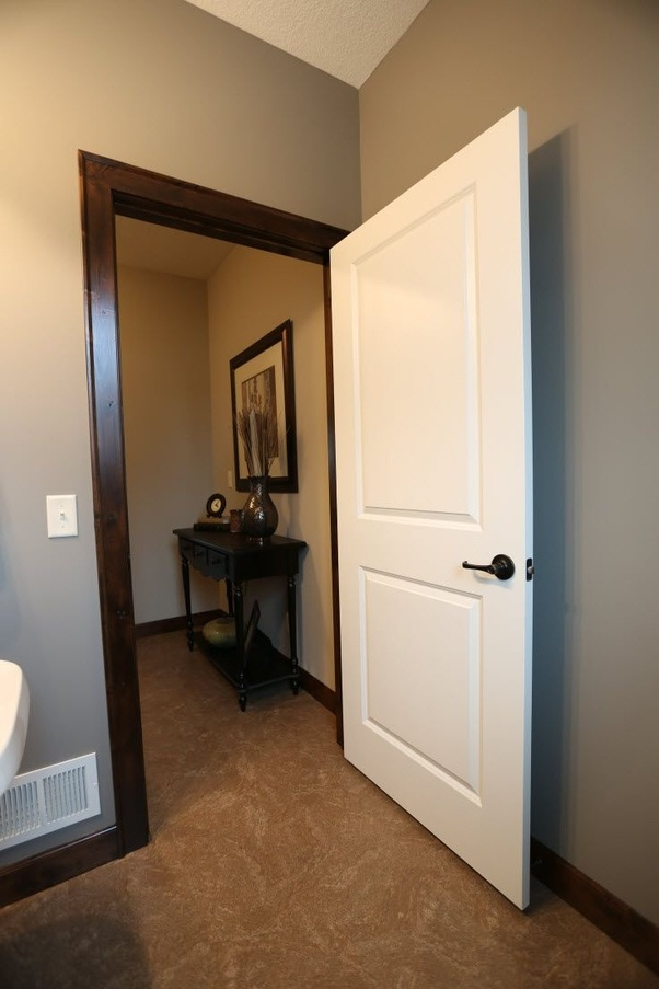 Wooden Internal Doors With: Do White Doors With Wood Trim Look Good?
