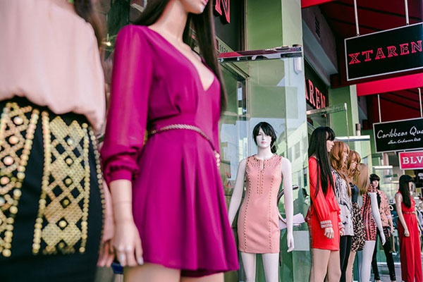 Where is the best US fashion district (NYC, Chicago, LA, Miami, or