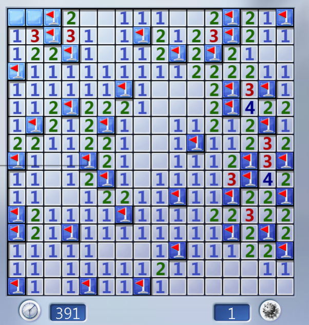 How much luck is needed for playing minesweeper? - Quora