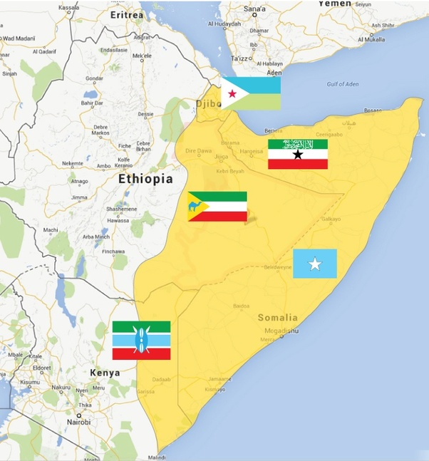 Is it true that Somali land was looted and given to Ethiopia