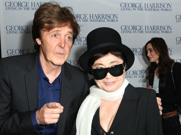 What Do Paul Mccartney And Ringo Starr Really Think Of Yoko Ono Quora