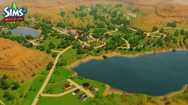 Do you know of any good sims 3 user-made worlds that don't