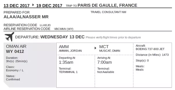 How To Get A Flight Itinerary To Show Immigration