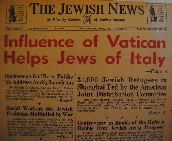 Image result for jewish refugees in the vatican