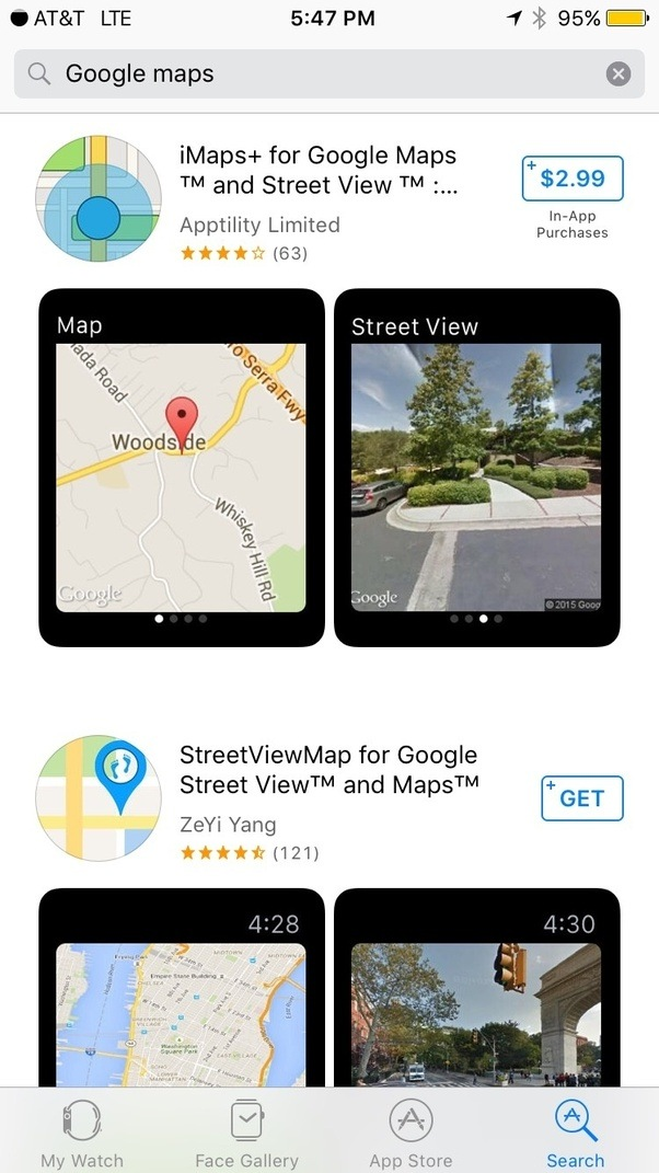Can You Use Google Maps On The Apple Watch Quora - Is google maps app free