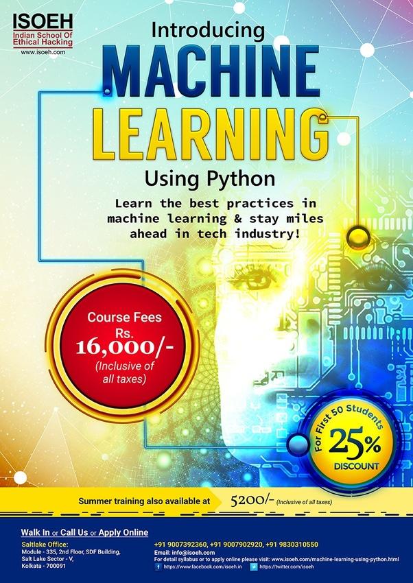 Where can I learn Machine Learning in Kolkata? - Quora
