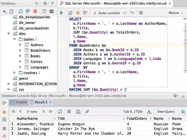 Structured Query Language – SQL – Basics