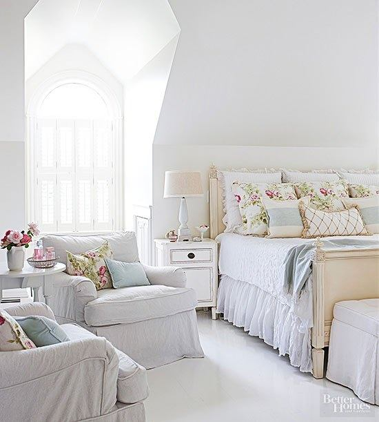Plush Bedding, Soft Pastels, And Lots Of Pillows And Ruffles Will Help You  Get That French Country Look, Without Losing Space. If You Have The Room,  ...