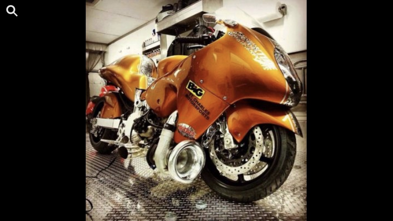 What would happen if you turbo charged a motor cycle? - Quora