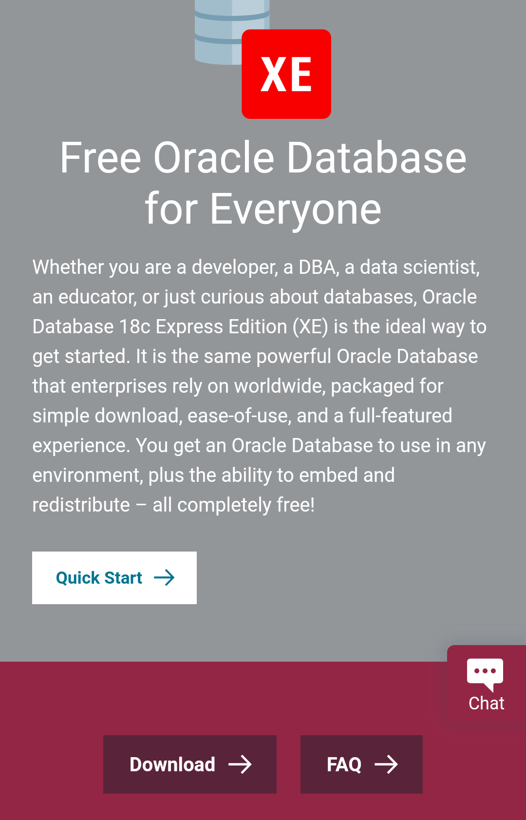Where can I get a free oracle database? - Quora