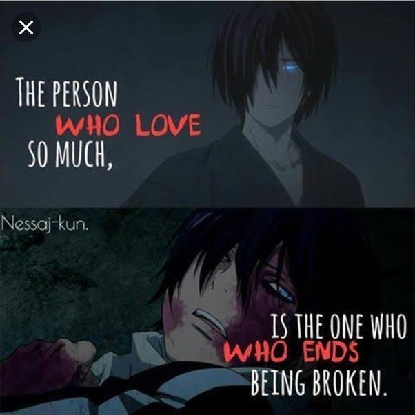 What Are The Darkest Anime Quotes Quora