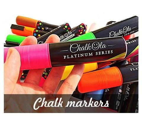 chalk is there an alternative type of pen to write on a chalkboard