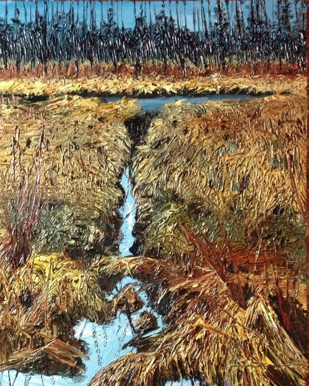 What texture does oil on canvas have and why Quora