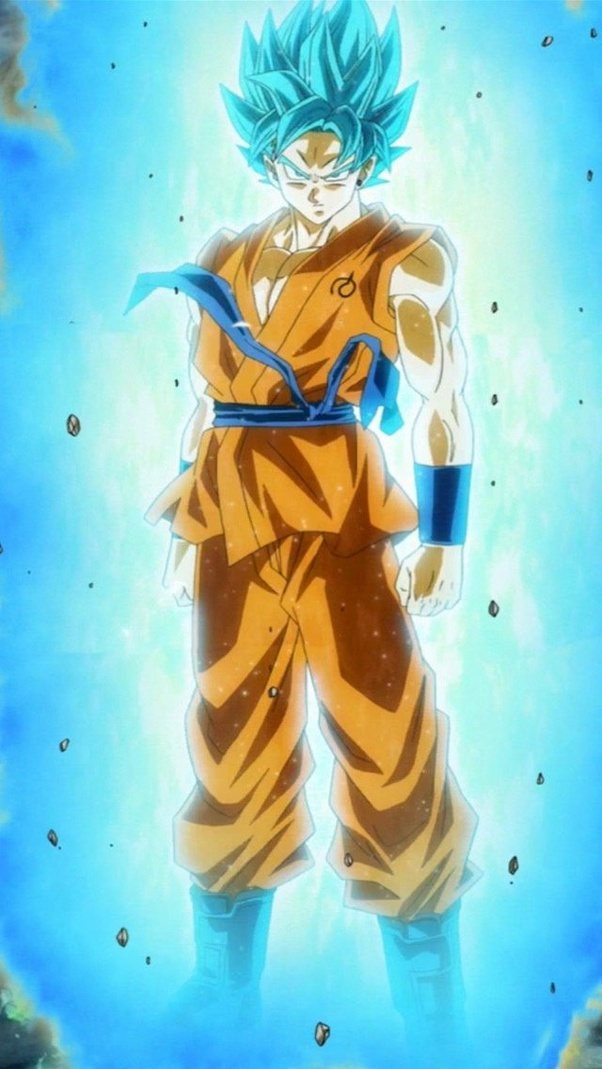 Why Did They Choose Blue For Goku A Hair Color As Super