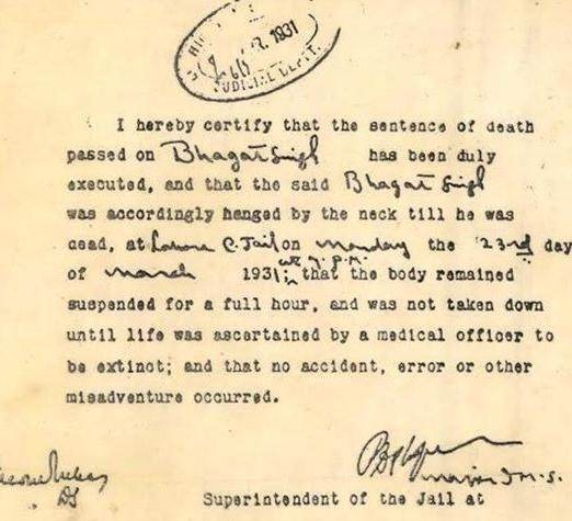 Image result for Gandhiji reply why he did not save bhagat singh
