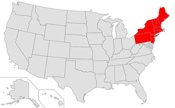 What is the northeast region of the United States known for? - Quora