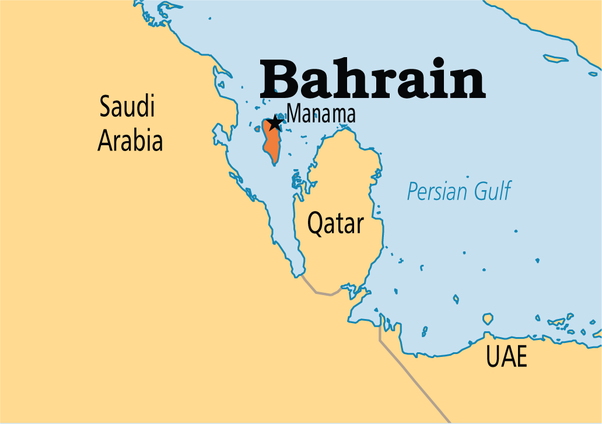 Is india bangladesh map the most unnatural looking map in the bahrain and qatar two comparatively tiny countries just beside large saudi arabia gumiabroncs Gallery