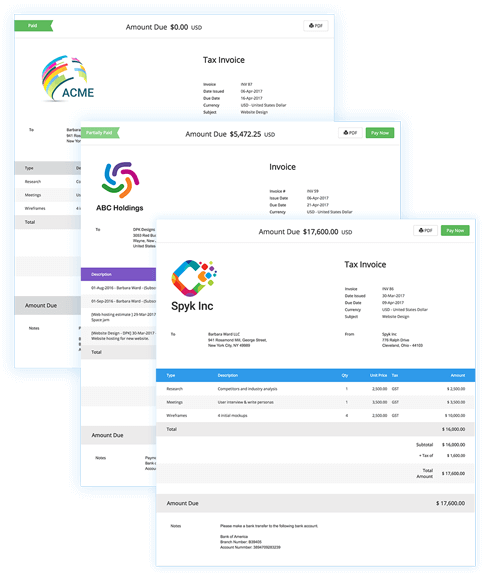 What Online Tool Can Be Used To Create Multiple Invoices From - Online invoices inc